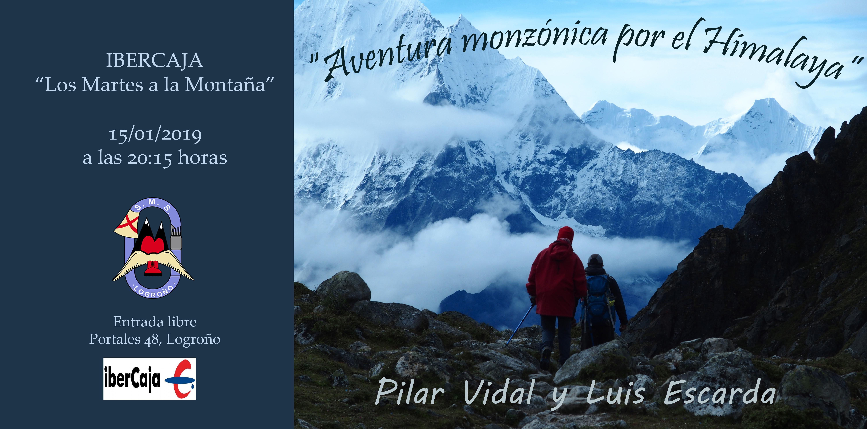 Cartel Aventura Monzónica Himalaya